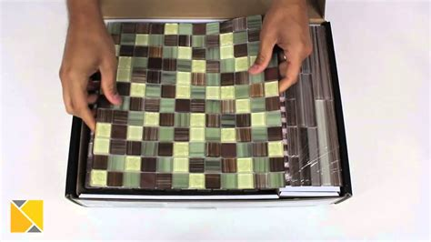 Peel And Stick Glass Tile Backsplash Kit by Diy Backsplash Peel And Stick Glass Tile Kit Review