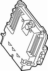 Ford Escape Engine Control Module  2 5 Liter  Code Vms0