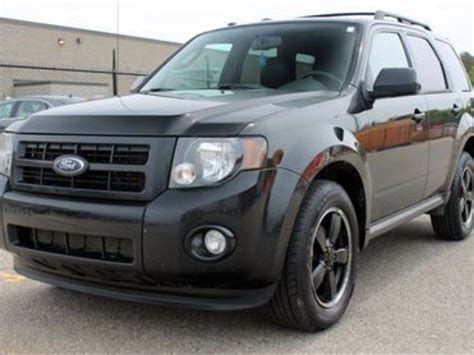 2011 Ford Escape Ltd by 2011 Ford Escape Xlt V6 4x4 Certified Black Carimex