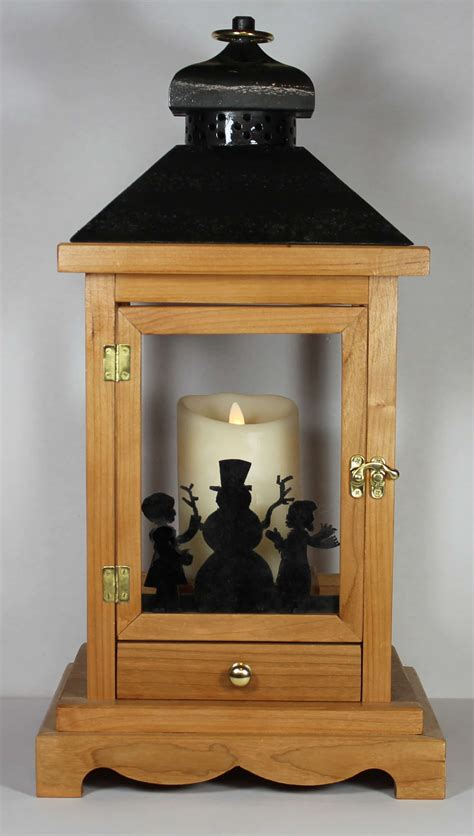 woodworking plan  building  wood lantern