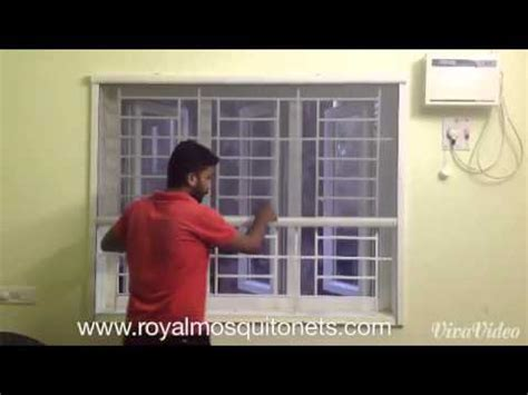 roller mosquito nets youtube