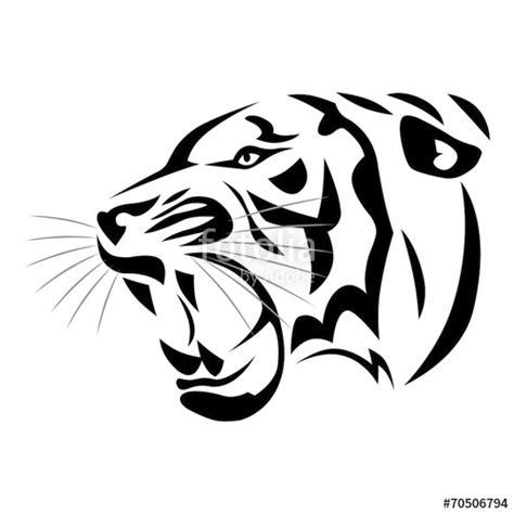 """tatouage Tigre Tribal"" Photo Libre De Droits Sur La"