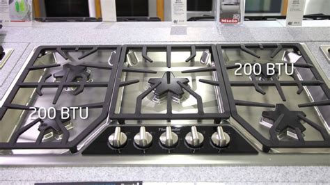 thermador   gas range top sgsxfss features youtube
