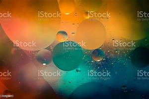 Macro, Oil, And, Water, Multi, Colored, Abstract, Background