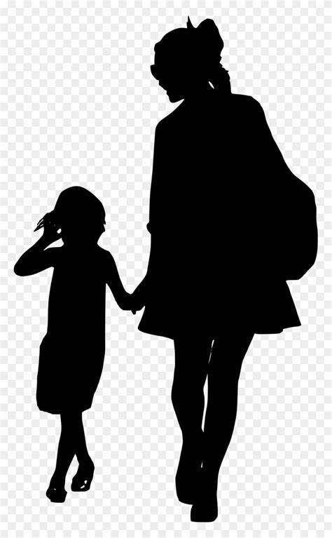 Library of african american parents walking holding child