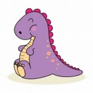 Very Cute Baby Dinosaur Isolated On White | Free Images at ...