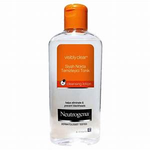 Neutrogena Visibly Clear Waschgel : neutrogena visibly clear tonik kullananlar ve hakk nda yorumlar ~ Avissmed.com Haus und Dekorationen