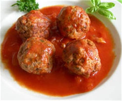boulettes de viande sauce tomate cuisine italienne recette boulette de viande sauce tomate par lol guru sur