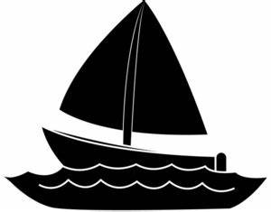 Fishing Boat Silhouette Clip Art | Clipart Panda - Free ...