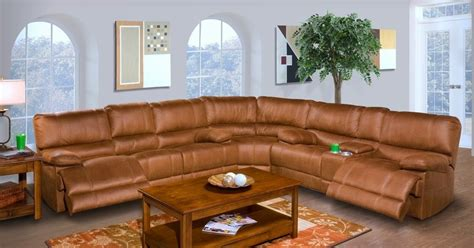 Reclining Sectional Sofas Microfiber by The Best Reclining Sofas Ratings Reviews Barton 6 Pc