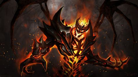 Nevermore the Shadow Fiend - DOTA 2 Wallpapers