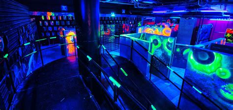 X Club Laser Tag Arena- Laser Tag Plus Bar...what could be
