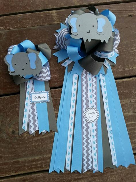 Baby Shower Mums For by To Be Set Of Two Baby Shower Elephant Baby