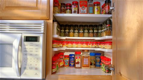 Spice Cupboard Organizer by Thanks Mail Carrier As Seen On Tv Turn A Cluttered