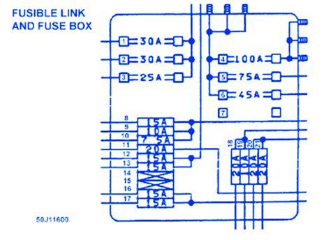 Infiniti M45 Fuse Box Location by Infinity M45 2007 Fuse Box Block Circuit Breaker Diagram