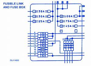 Infinity M45 2007 Fuse Box  Block Circuit Breaker Diagram