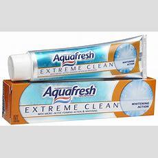 Aquafresh Extreme Clean Toothpaste Shespeaks