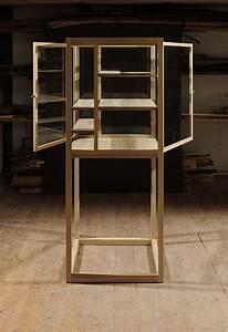 Fab Design Möbel : vitrinenschrank eiche freistehend 2 t ren m belwerkstatt hendrike farenholtz ~ Sanjose-hotels-ca.com Haus und Dekorationen