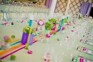 Deco Multicolore : mariage th me arc en ciel blog detendance boutik vente d 39 articles de decoration de mariage et ~ Nature-et-papiers.com Idées de Décoration