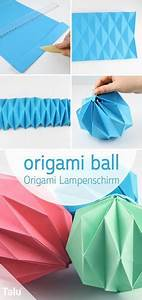 Origami Lampe Anleitung : origami lampe falten lampenschirm aus papier basteln lampen origami christmas origami und ~ Watch28wear.com Haus und Dekorationen