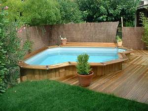article modifie piscinespacom With amenagement paysager avec piscine creusee 10 les plus belles photos de piscines bois hors sol semi