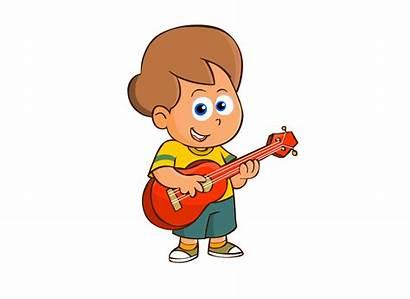 Ukulele Clipart Children Child Player Ukelele Lessons