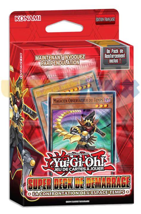 types of yugioh decks 2014 9053 jeux de cartes yu gi oh decks de demarrage deck