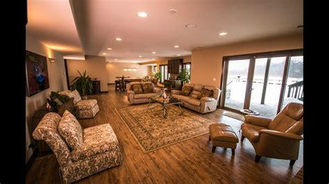 custom ranch home  basement remodeled youtube