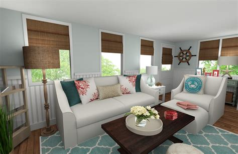 Beautiful Coastal Living Room Decorilla