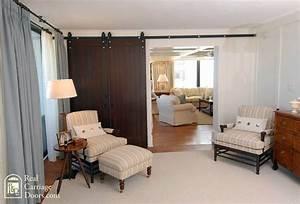 interior sliding barn doors on master bedroom bedroom With barn doors for interior rooms