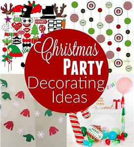 Christmas Party Decorating Ideas - Hoosier Homemade