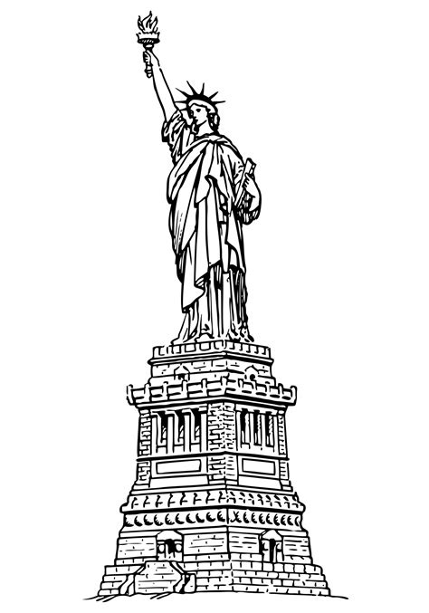 Statue Of Liberty Clipart Statue Of Liberty Clipart Free Stock Photo Domain