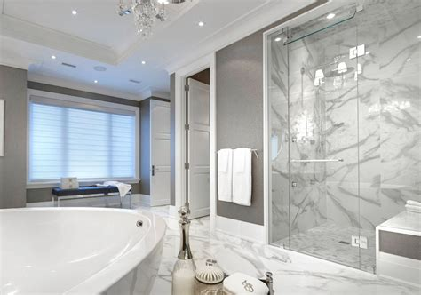 Modern Marble Bathroom Ideas by 27 Carrara Marble Tile Ideas Marble Tile Types