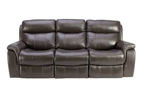 Leather Power Sofa by Lagrange Leather Power Reclining Sofa At Gardner White