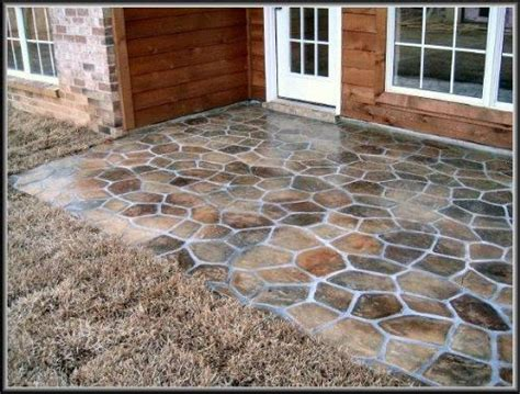 1000 ideas about concrete patio paint on