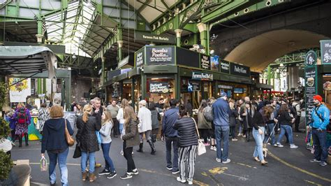 After Terror Attacks, London's Borough Market Is Ready to ...