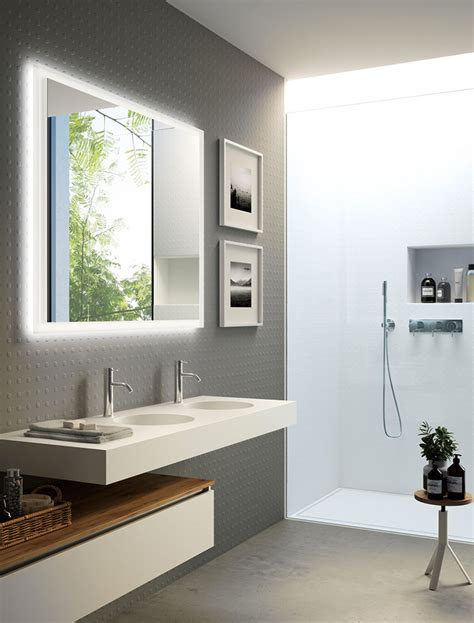 Bathroom Ideas Grey And White by 35 Foto Di Bagni Con Doppio Lavabo Dal Design Elegante E