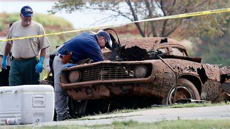 oklahoma sunken cars mysteries solved  families