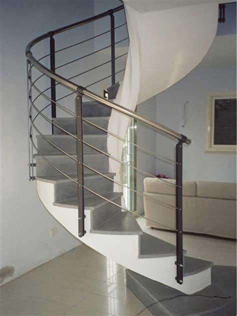 scale interne a chiocciola ringhiere per scale interne brescia parapetto balaustra