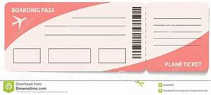 Plane ticket template for gift the letter sample for Flight ticket template gift