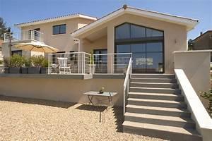 Maison En L Moderne : architecture de villa moderne mc immo ~ Melissatoandfro.com Idées de Décoration