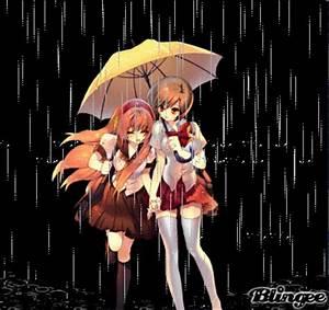 Rain anime Picture #131516993 | Blingee.com