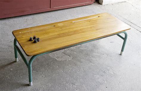 bureau ecolier vintage table basse sm bureau écolier 02