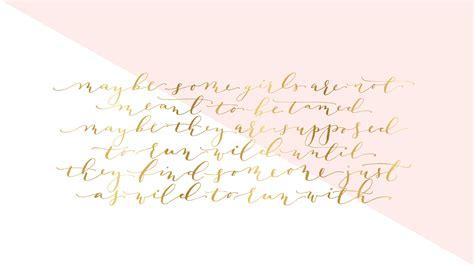 Free Calligraphy Desktop Wallpaper
