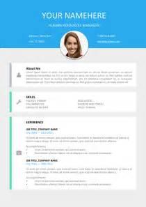Resume Template Editable Le Marais Free Modern Resume Template
