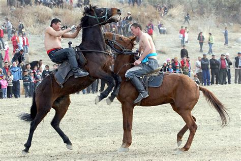 kyrgyzstan games road horse nomad nomads silk horseback expedition travel tour provided experts koza kirsten greased wrestle ready august