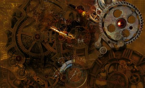 steampunk desktop backgrounds wallpaper cave