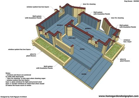 cute  insulated dog house plans  home plans design