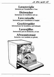 Dishwasher 85124 Manuals