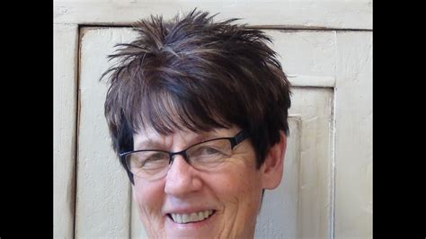 (hairstyles For Short Hair) On Older Women